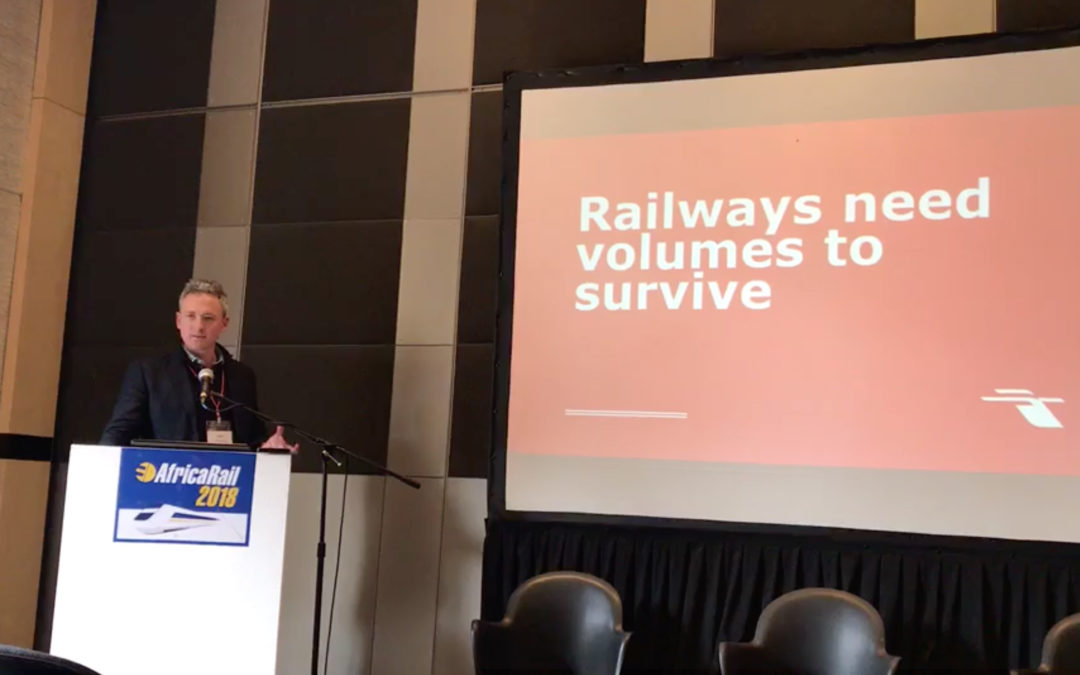 Railways need volumes to survive.